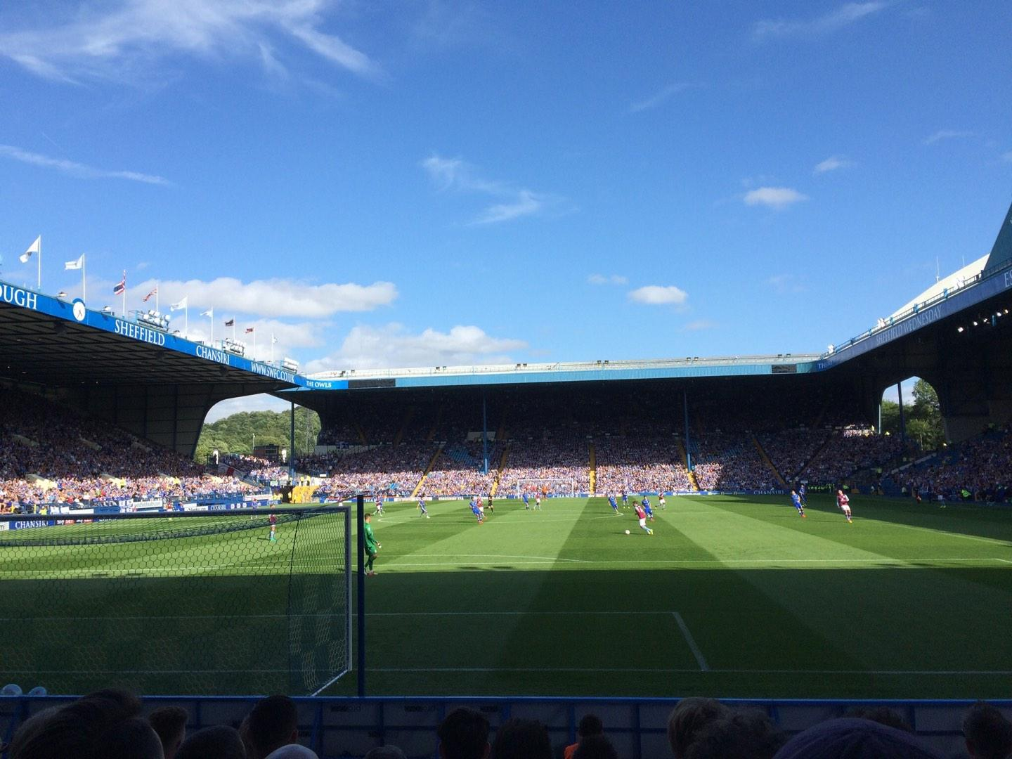 Hillsborough Stadium Section WL4 Row J Seat 94