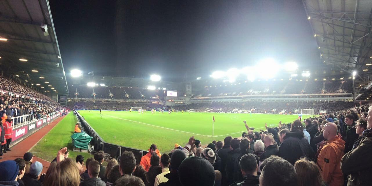 Boleyn Ground Section STBL1 Row G Seat 10