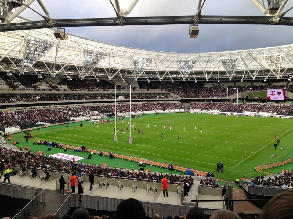 London Stadium Section 227 Row 44 Seat 721