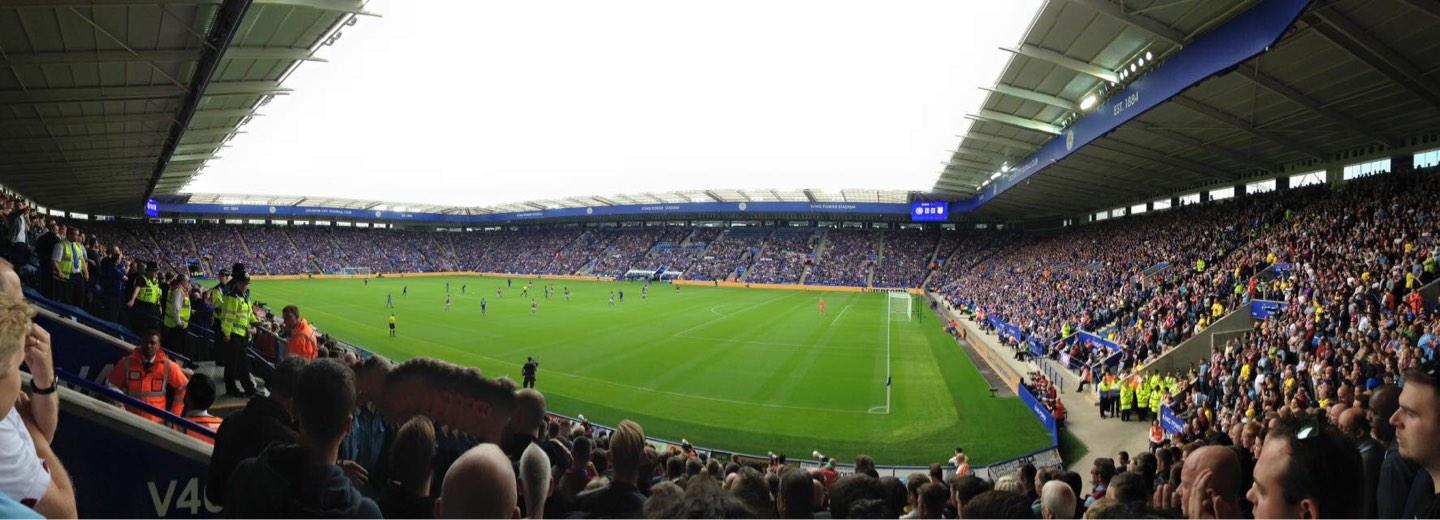 King Power Stadium Section M3a Row Q Seat 333
