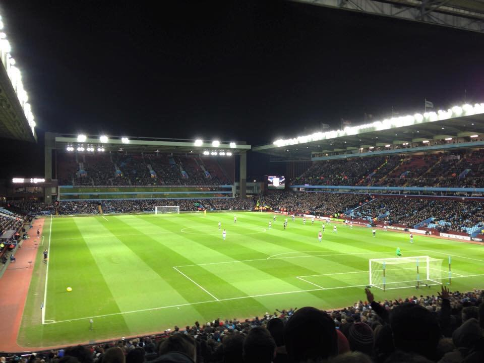 Villa Park Section L7 Row OO Seat 199