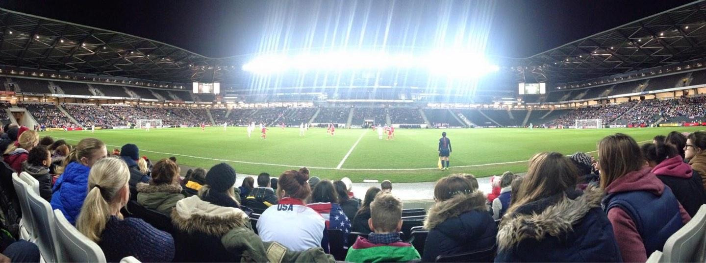 Stadium MK Section 3 Row F Seat 94