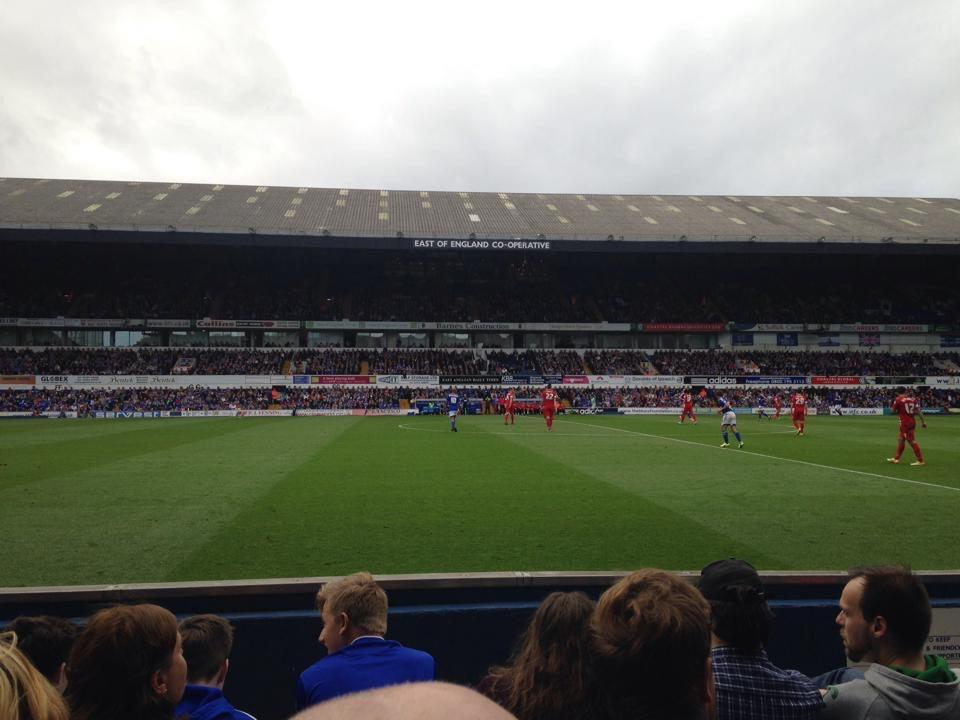 Portman Road Section T Row E Seat 81