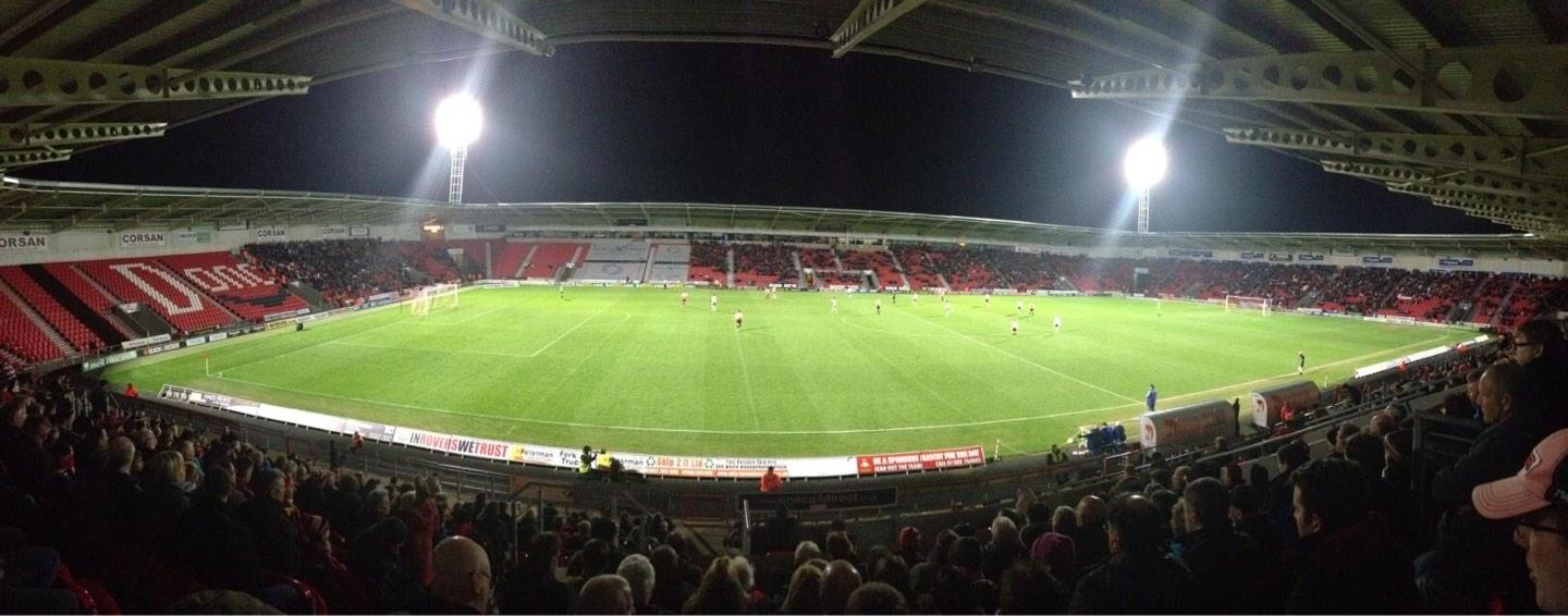 Keepmoat Stadium Section West Stand Row W Seat 692
