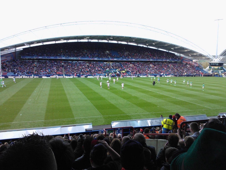 John Smith's Stadium Section KB8 Row U Seat 191