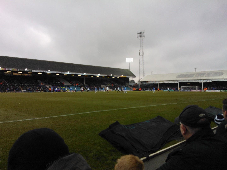 London Road Stadium Section F Row C Seat 186