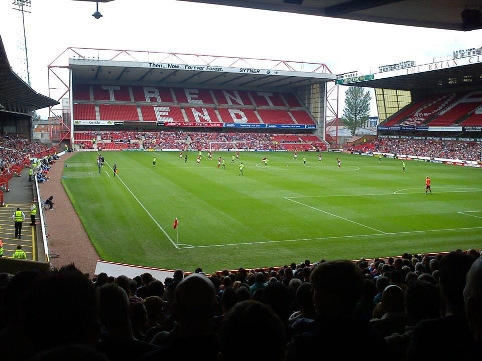 City Ground Section Z1 Row Y Seat 229