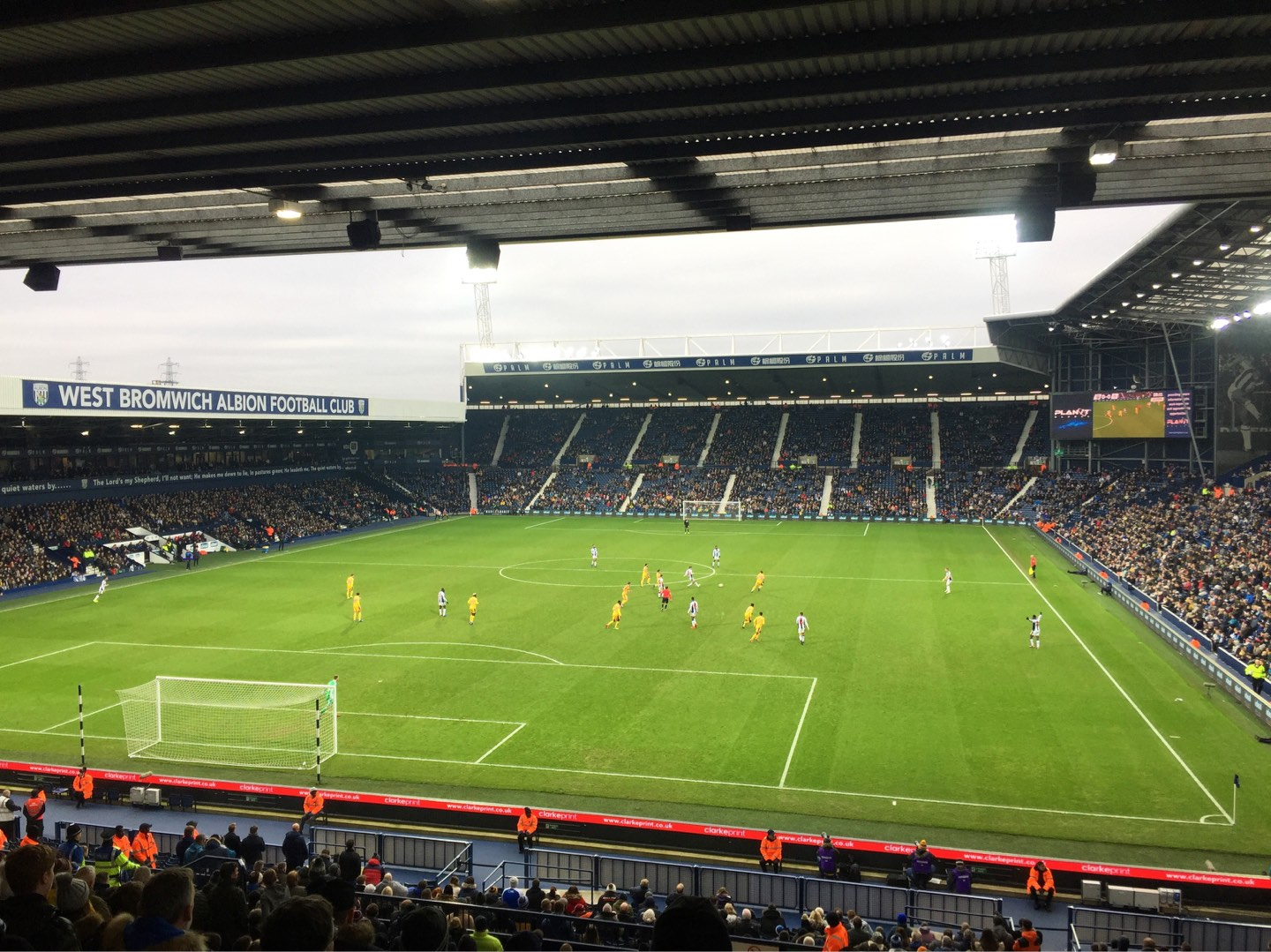 The Hawthorns Section A2 Row SS Seat 20