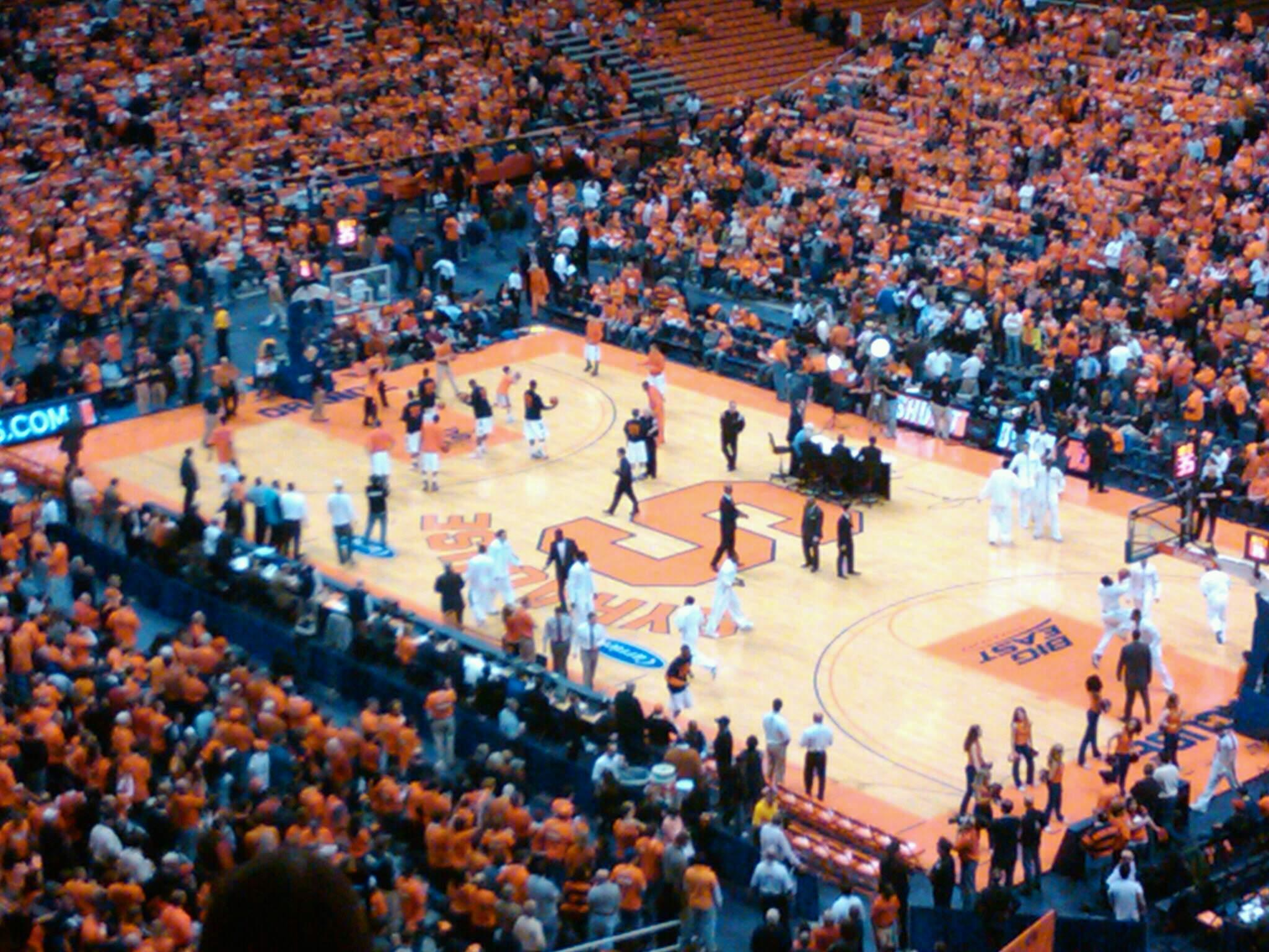 Carrier Dome Section 302 Row M Seat 12
