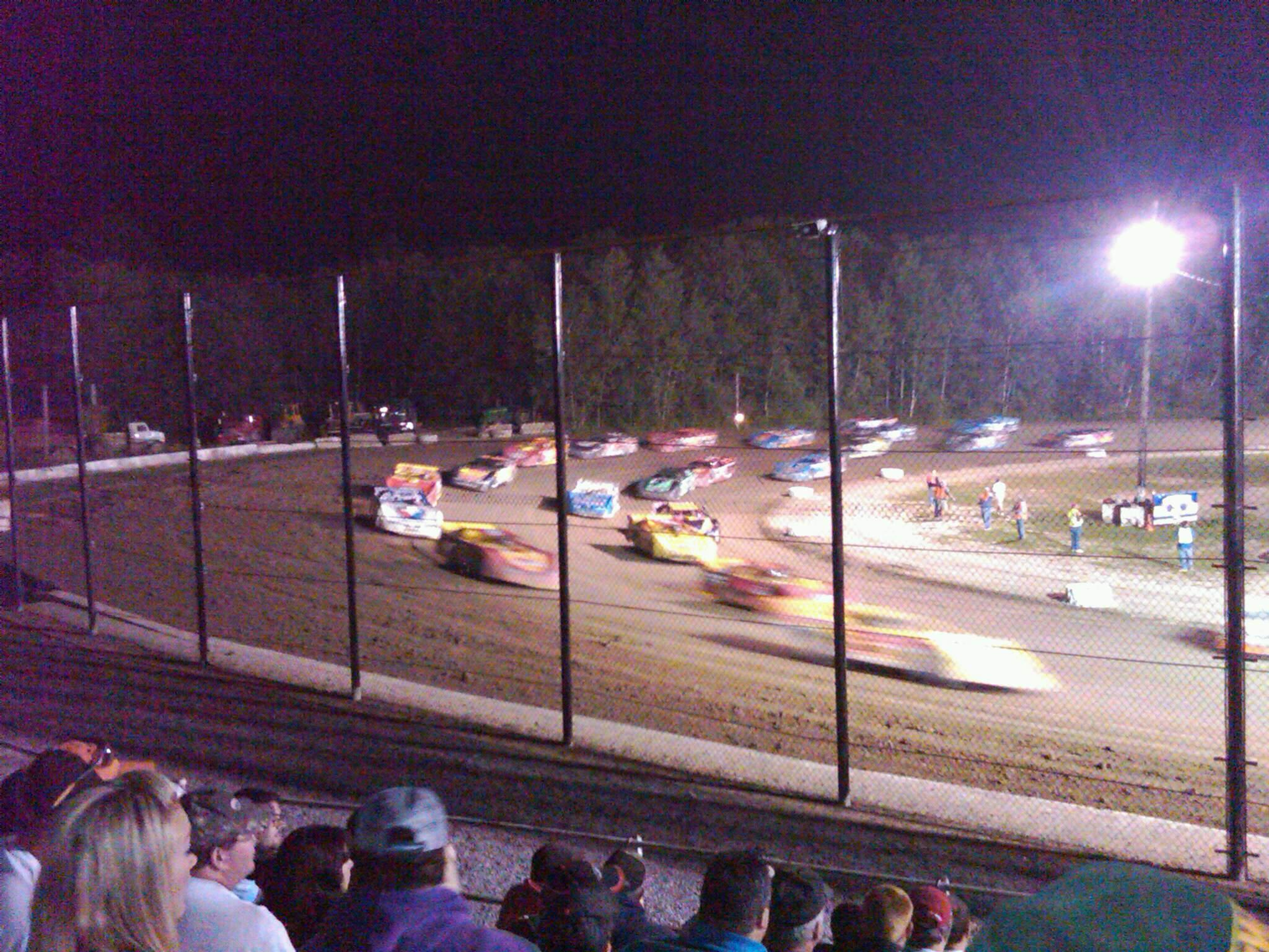 Brewerton Speedway Section A Row 6 Seat 1