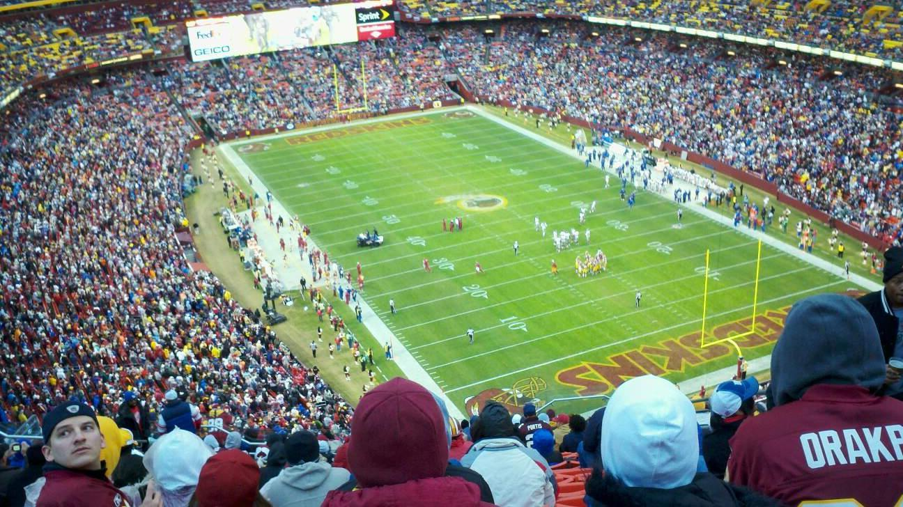 FedEx Field Section 446 Row 7 Seat 12