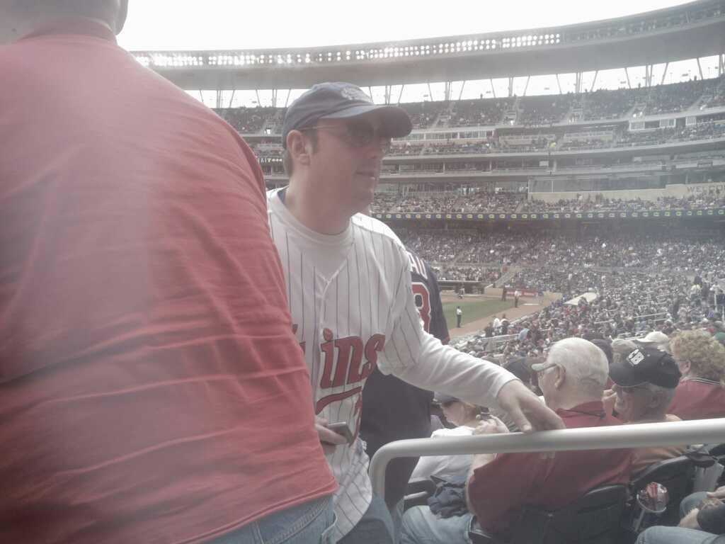 Target Field Section 126 Row 25 Seat 1