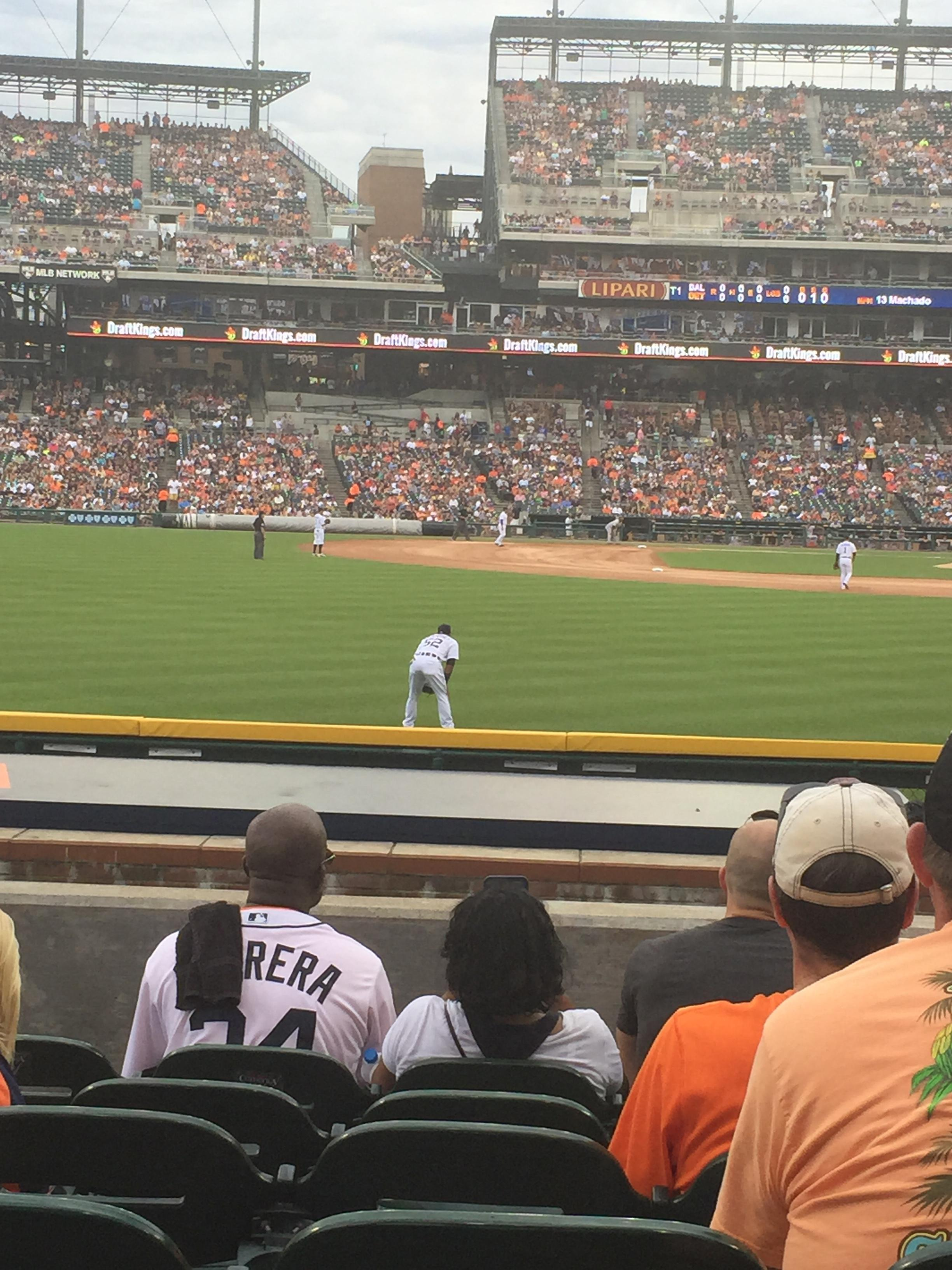 Comerica Park Section 148 Row G Seat 21