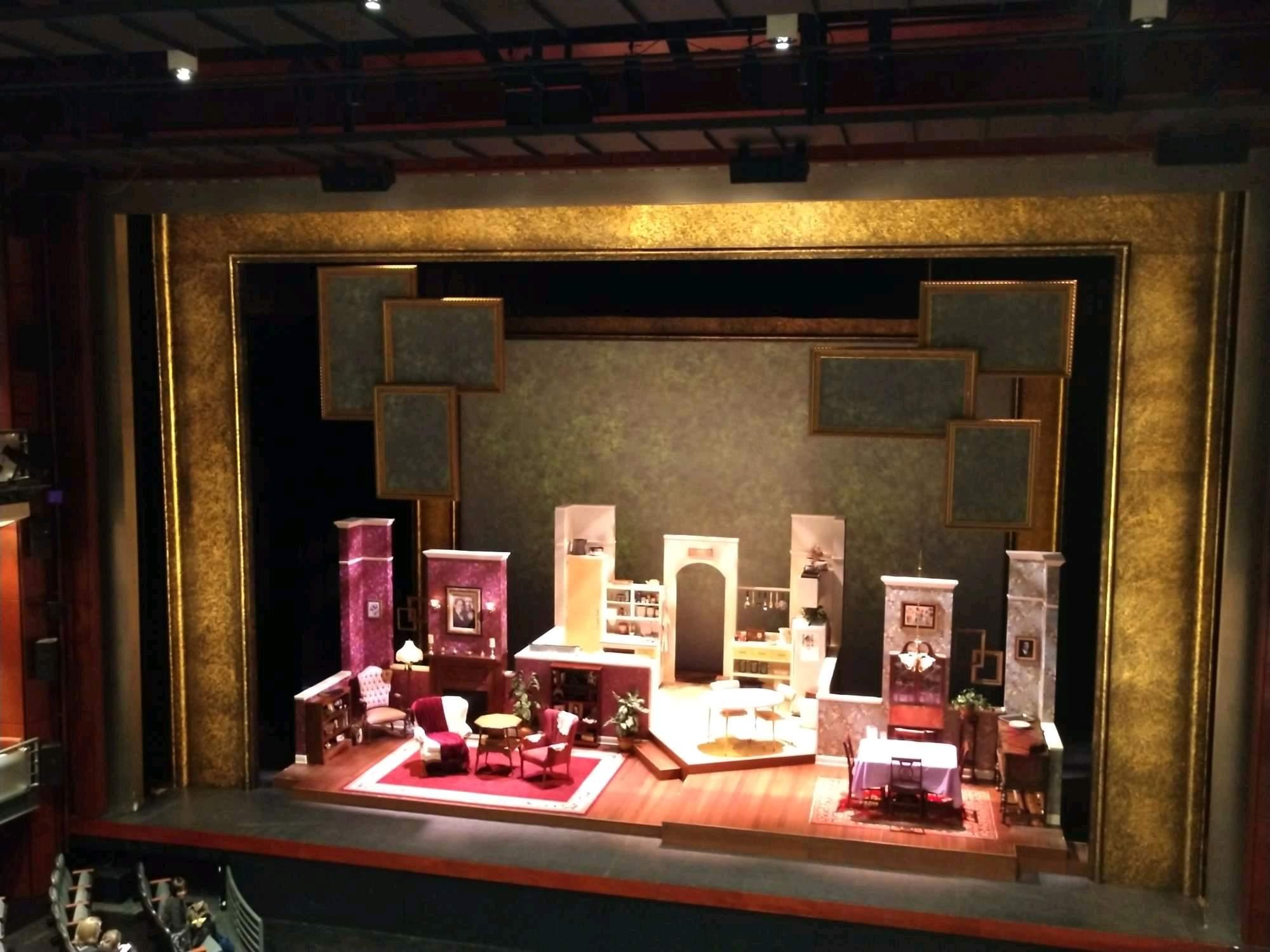 A.J. Fletcher Opera Theater Section E Row C Seat 207