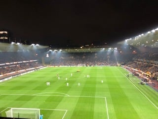 Molineux Stadium Section PU1 Row A Seat 15