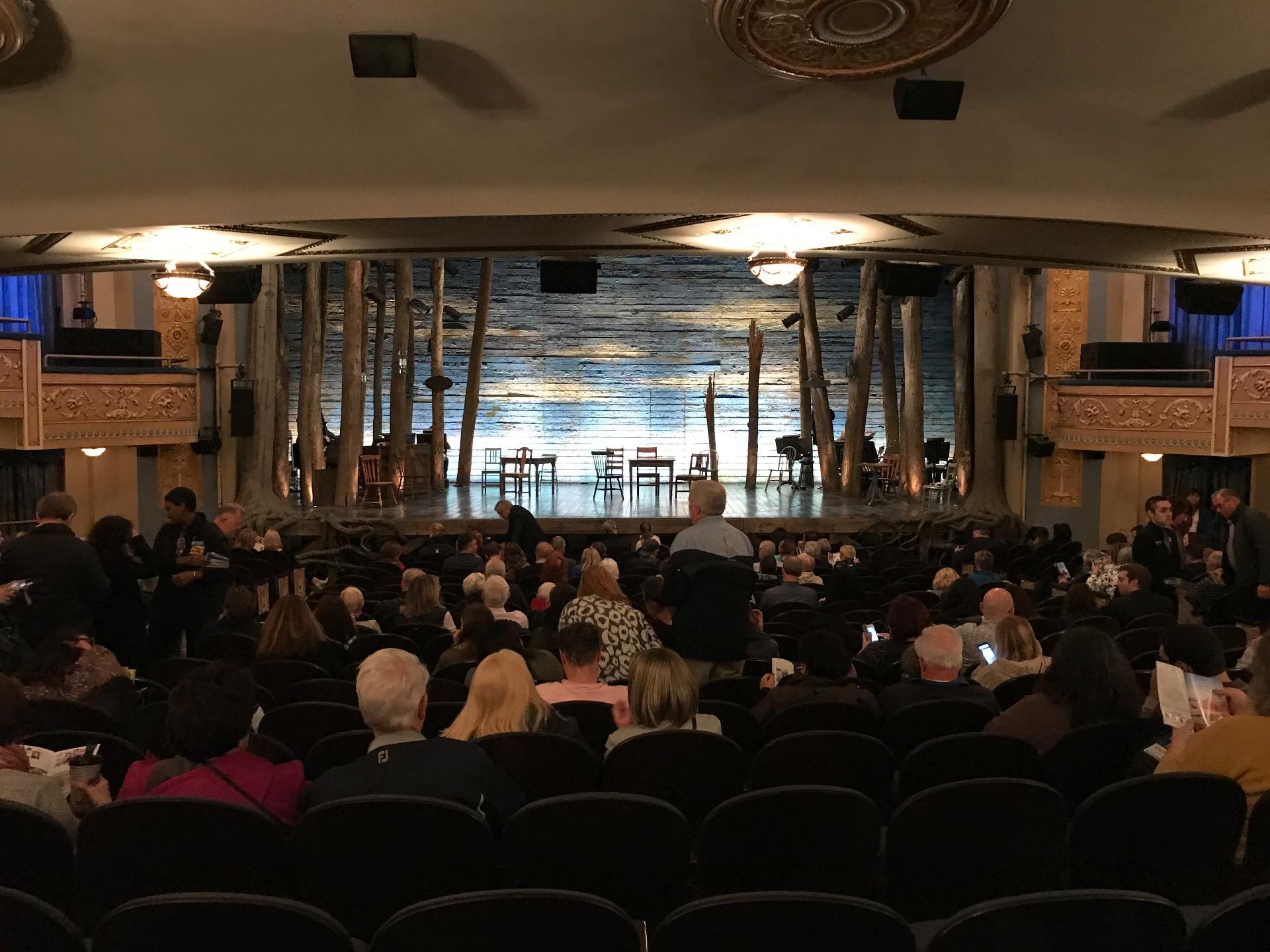 Gerald Schoenfeld Theatre Section Standing Room Row SRO Seat 104
