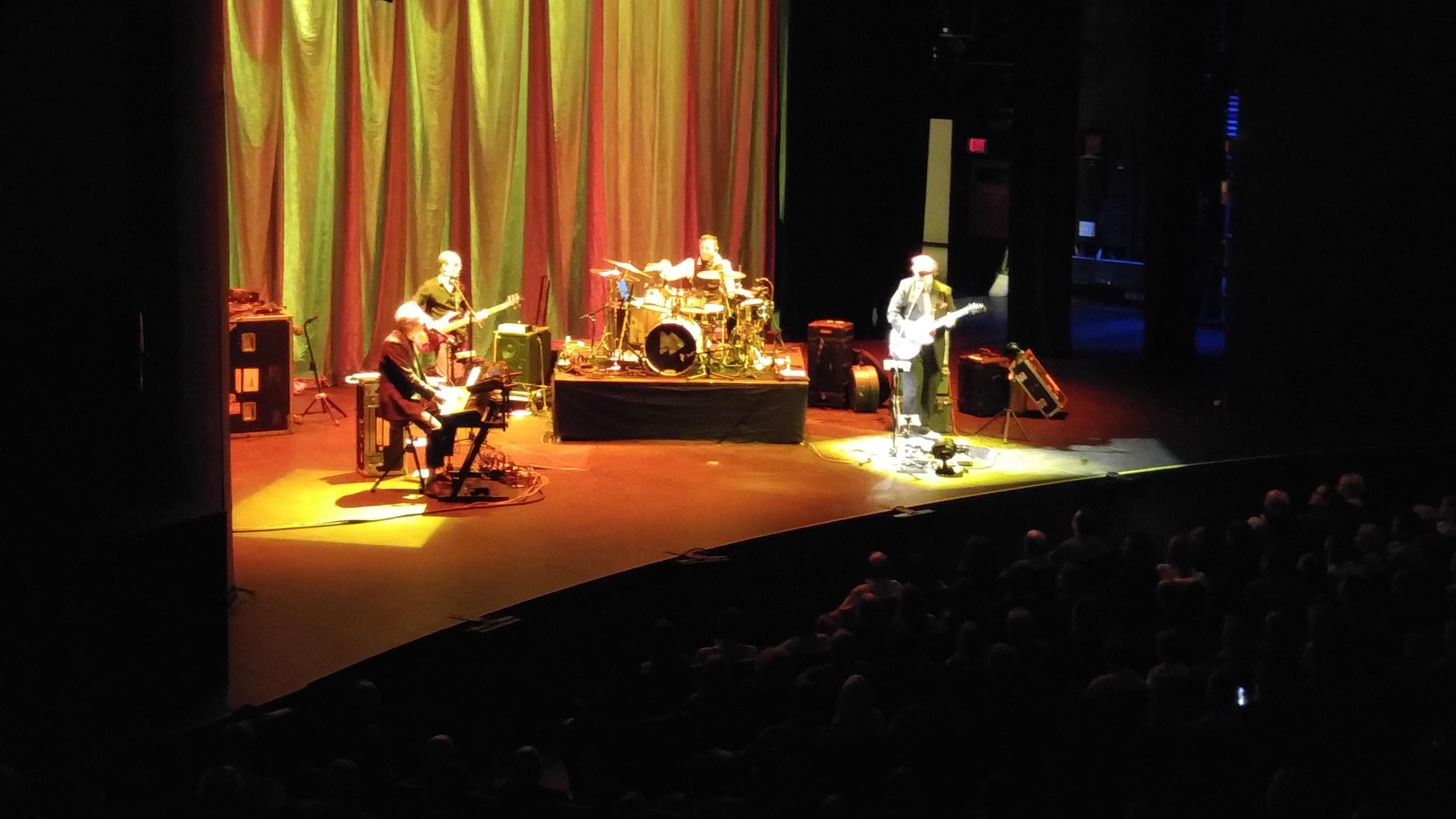 Hart Theatre at The Egg Section Orchestra left Row P Seat 29