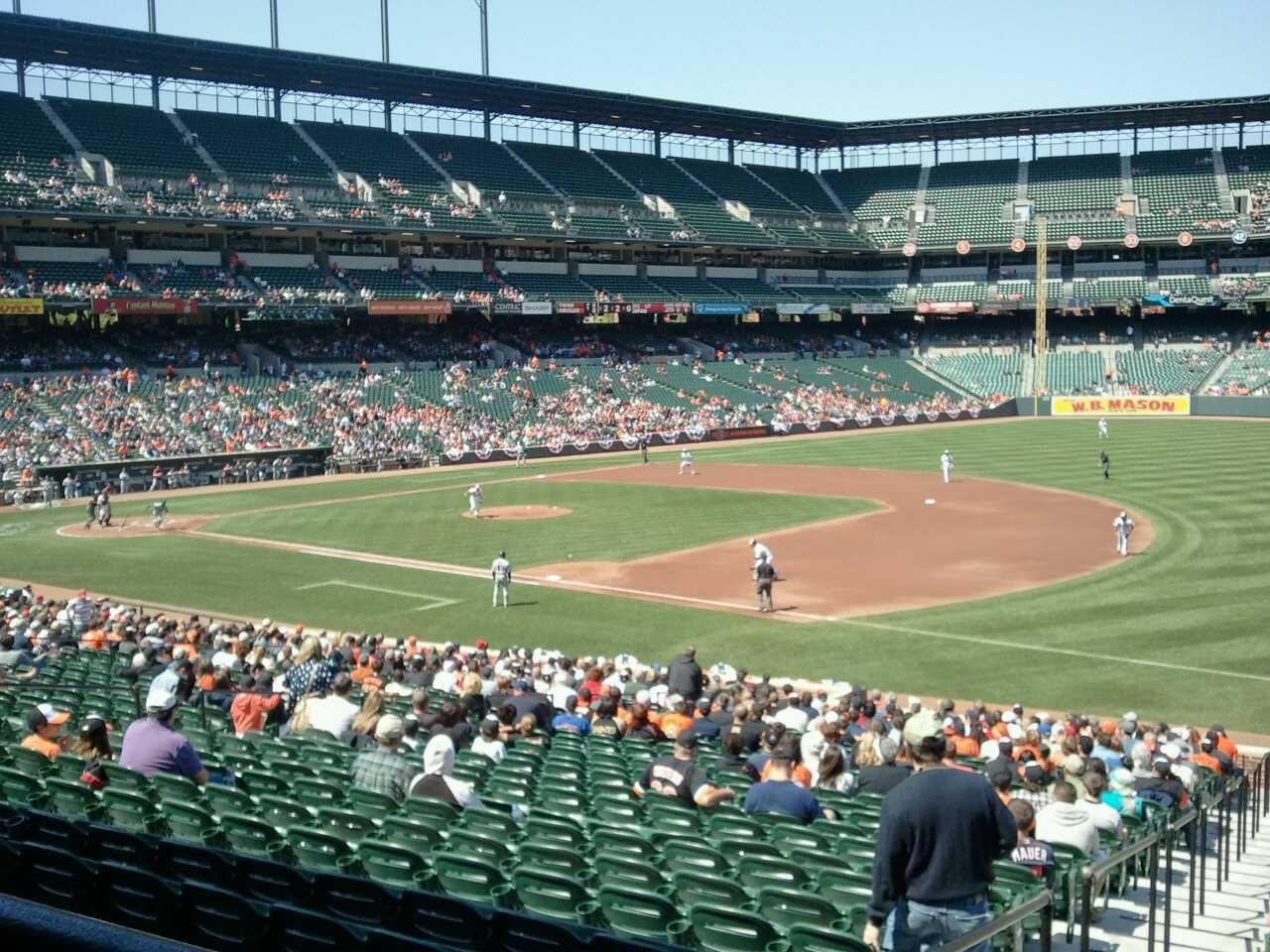 Oriole Park At Camden Yards Section 13 Row 1 Seat 16