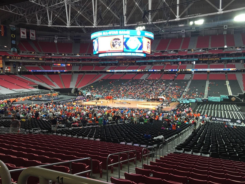 State Farm Stadium Section 105 Row WC Seat 10