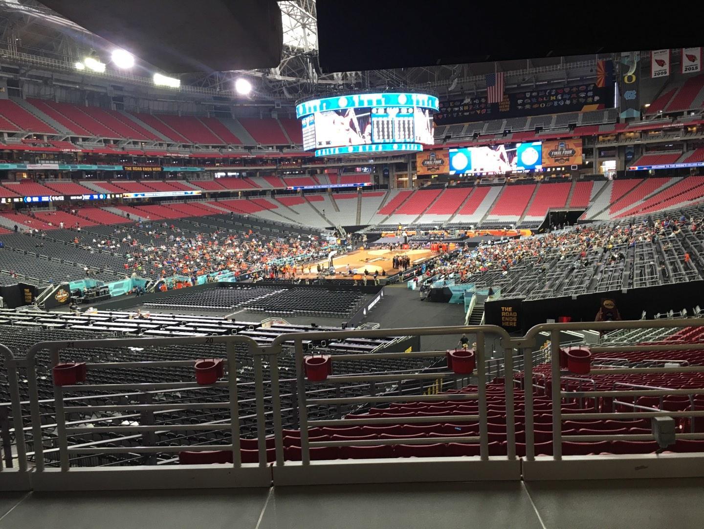 State Farm Stadium Section 137 Row WC Seat 19