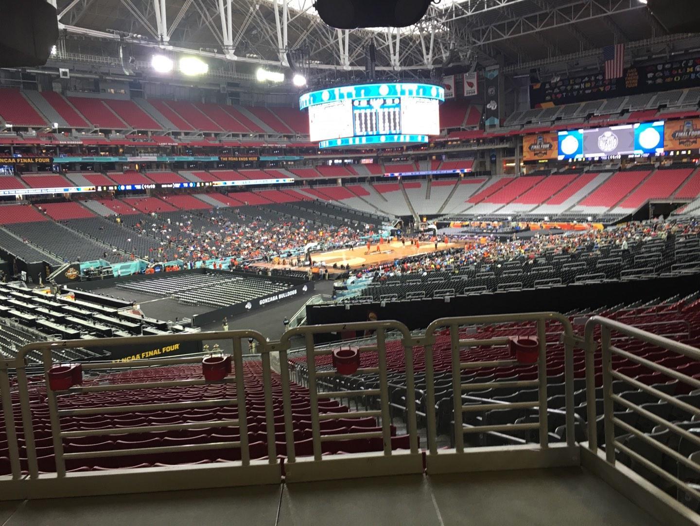 State Farm Stadium Section 136 Row WC Seat 2