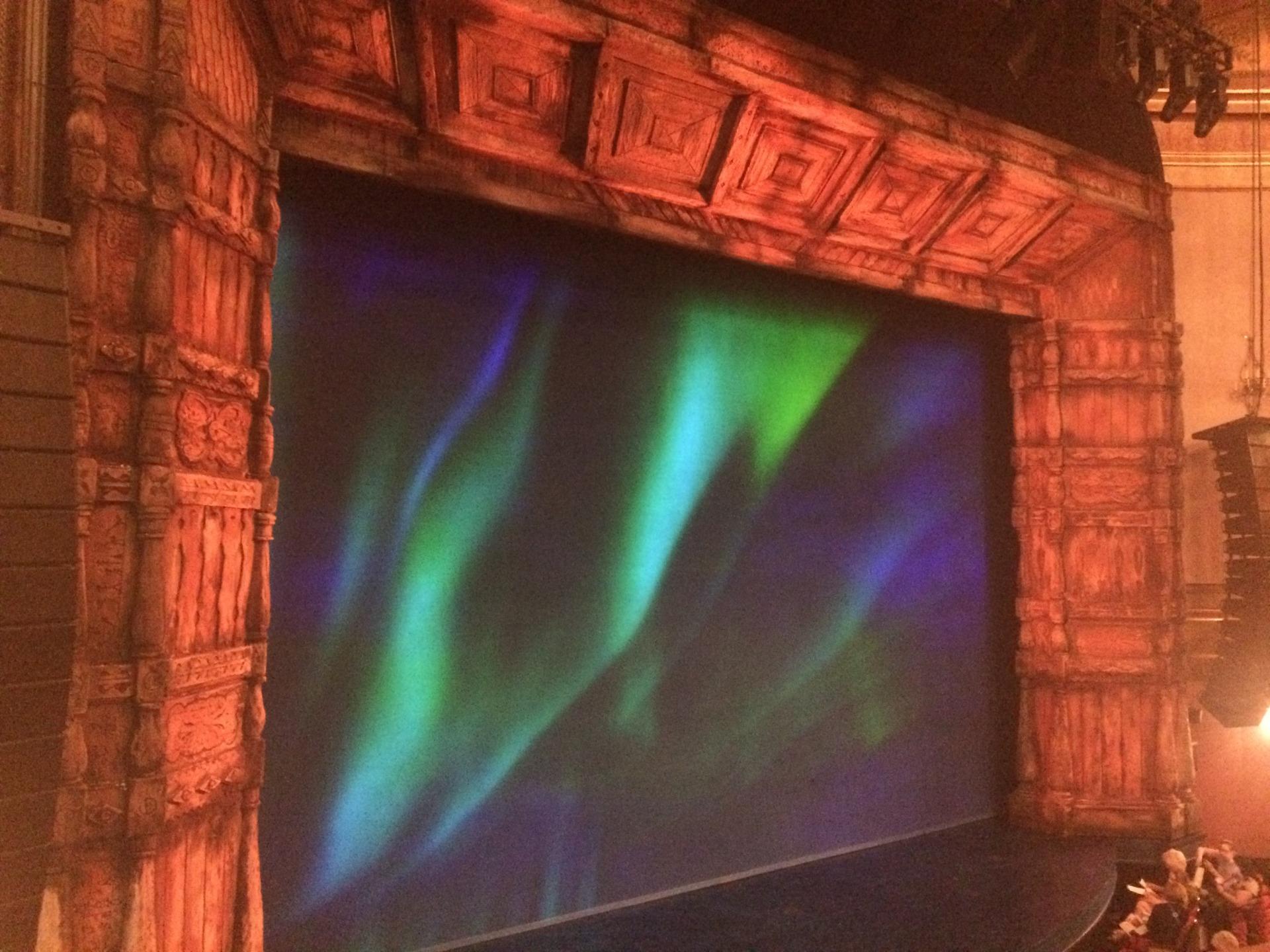 St. James Theatre Section Mezzanine L Row A