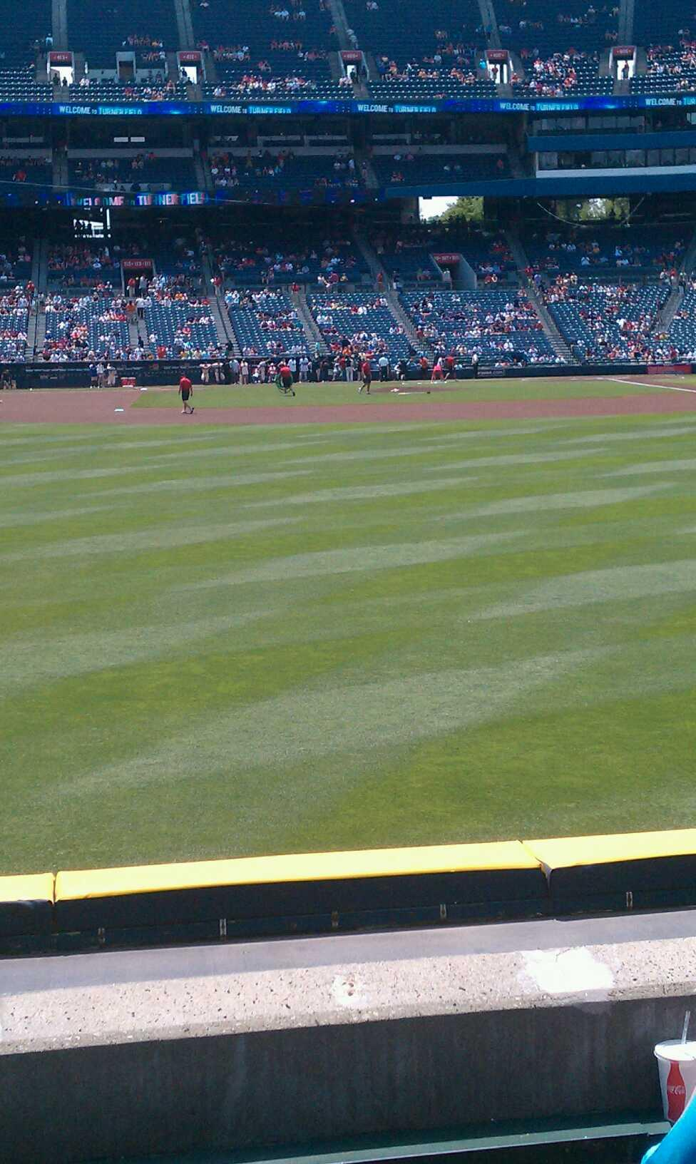 Turner Field Section 138 Row 16 Seat 4