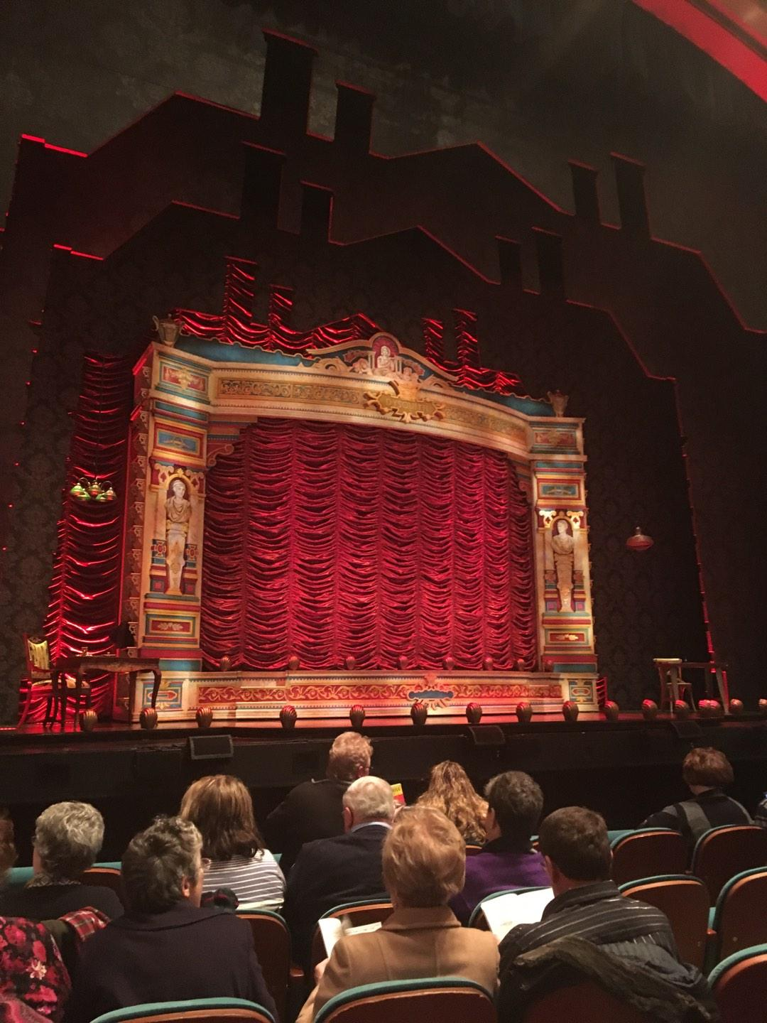 Procter And Gamble Hall at the Aronoff Center Section Orchestra L Row B Seat 109