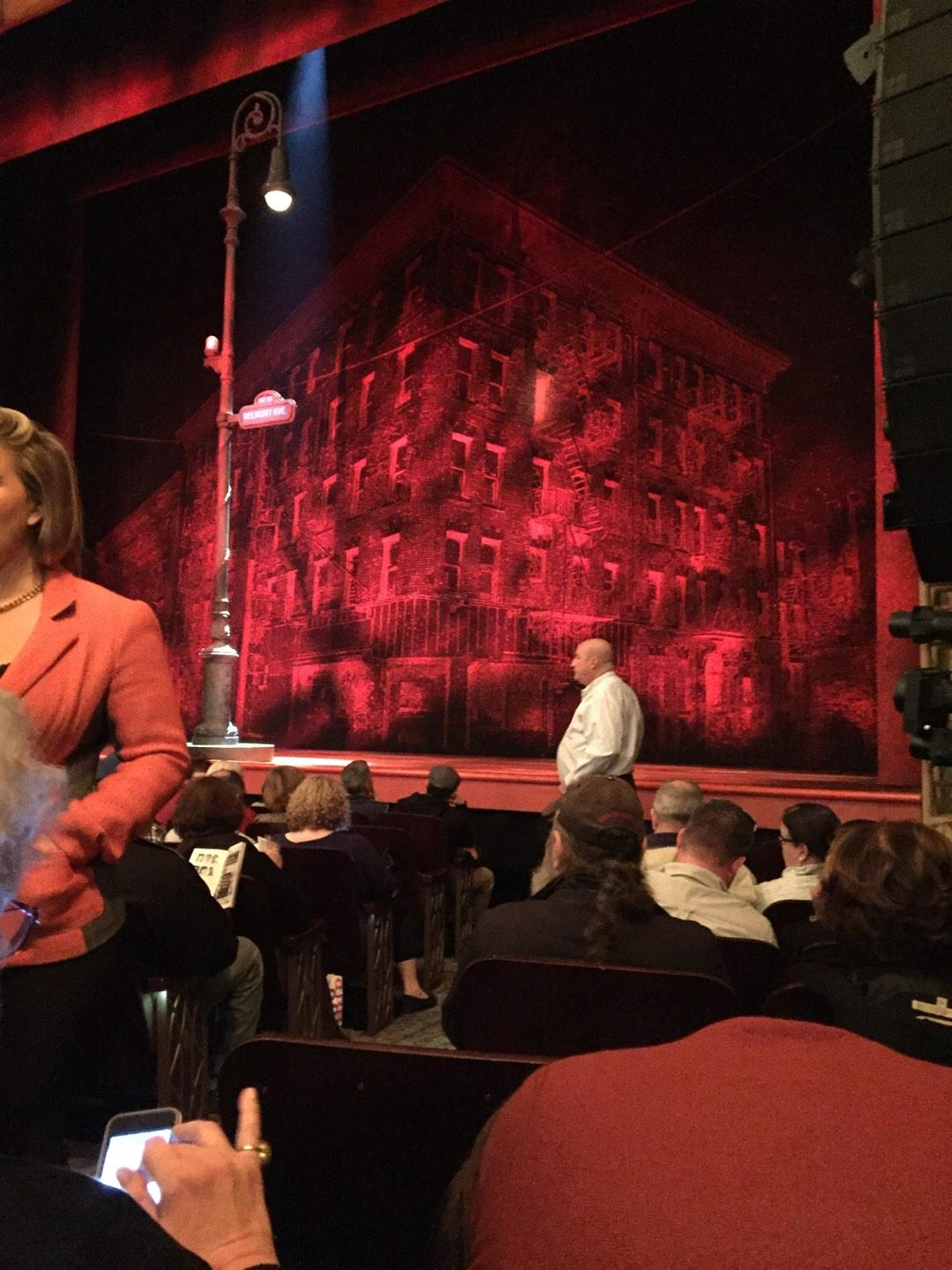 Longacre Theatre Section Orchestra Row G Seat 3