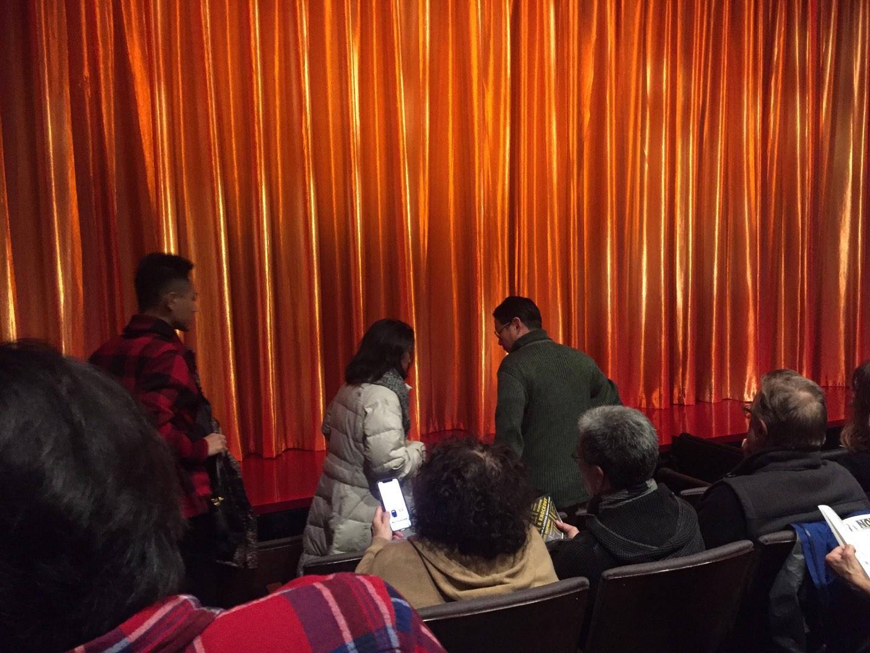 The Newman Theater at the Joseph Papp Public Theatre Row E Seat 14