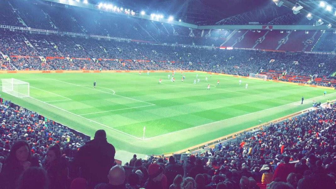 Old Trafford Section W210 Row 22 Seat 48