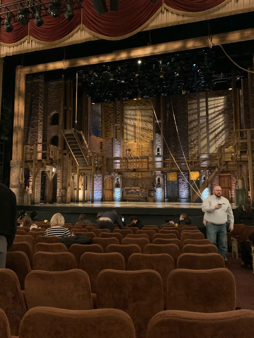 Forrest Theatre Section Cener Orch Row L (or Row 12) Seat 101