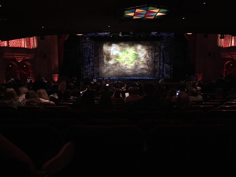 Fox Theatre (Atlanta) Section Orchestra C Row LL Seat 110