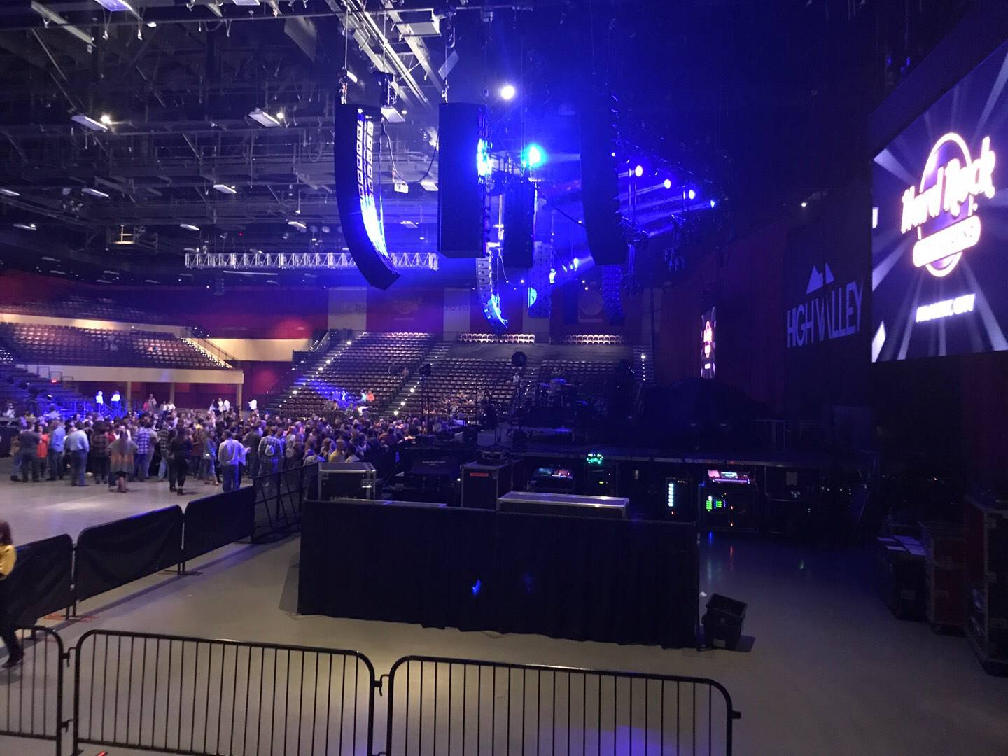 Hard Rock Live at Etess Arena, section 201, row E, seat 2