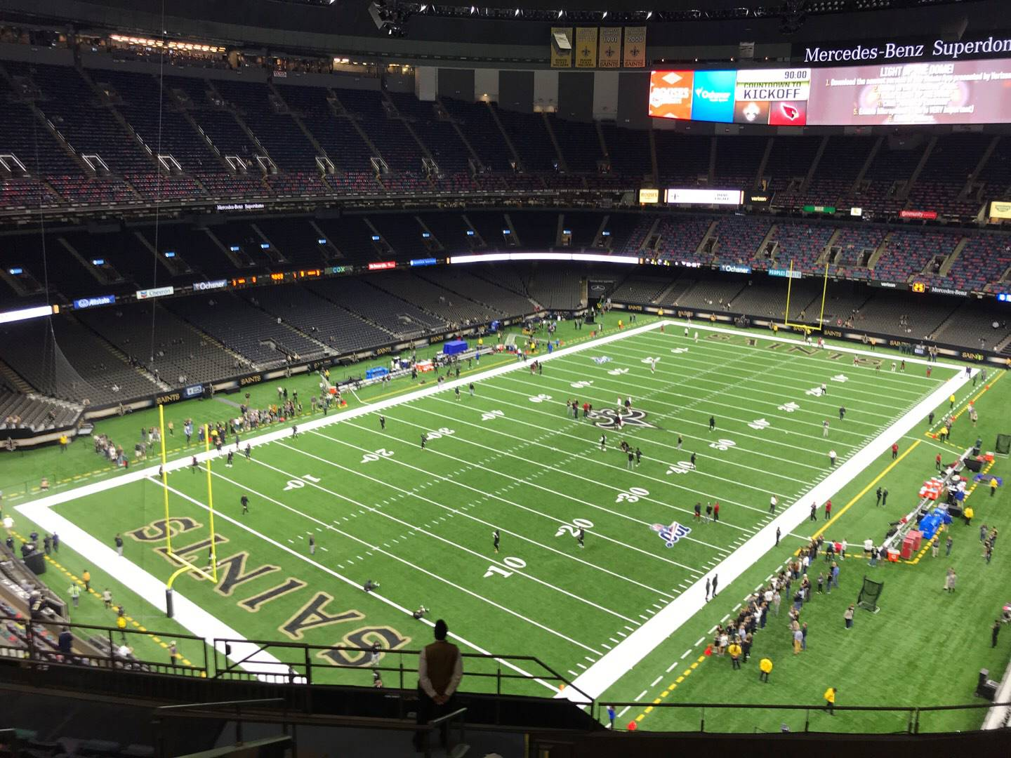 Mercedes-Benz Superdome Section 622 Row 12 Seat 14