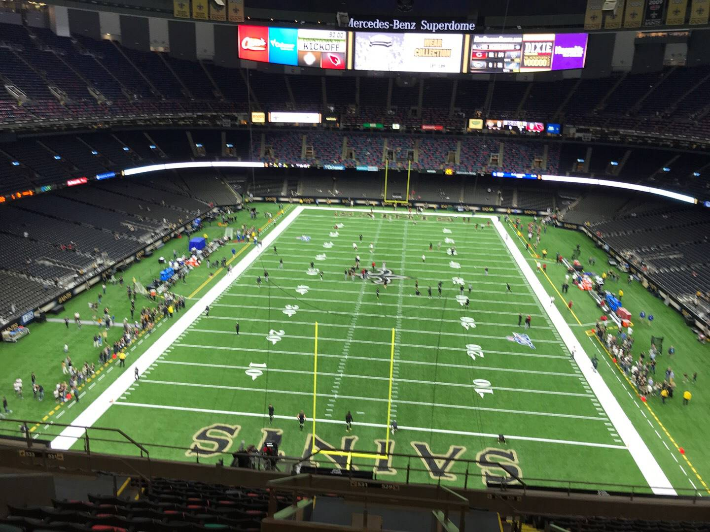 Mercedes-Benz Superdome Section 637 Row 12 Seat 2