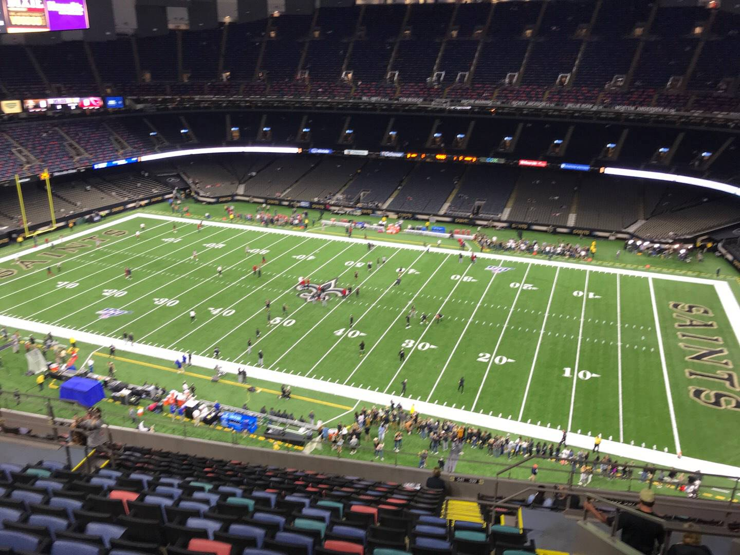 Mercedes-Benz Superdome Section 637 Row 17 Seat 8