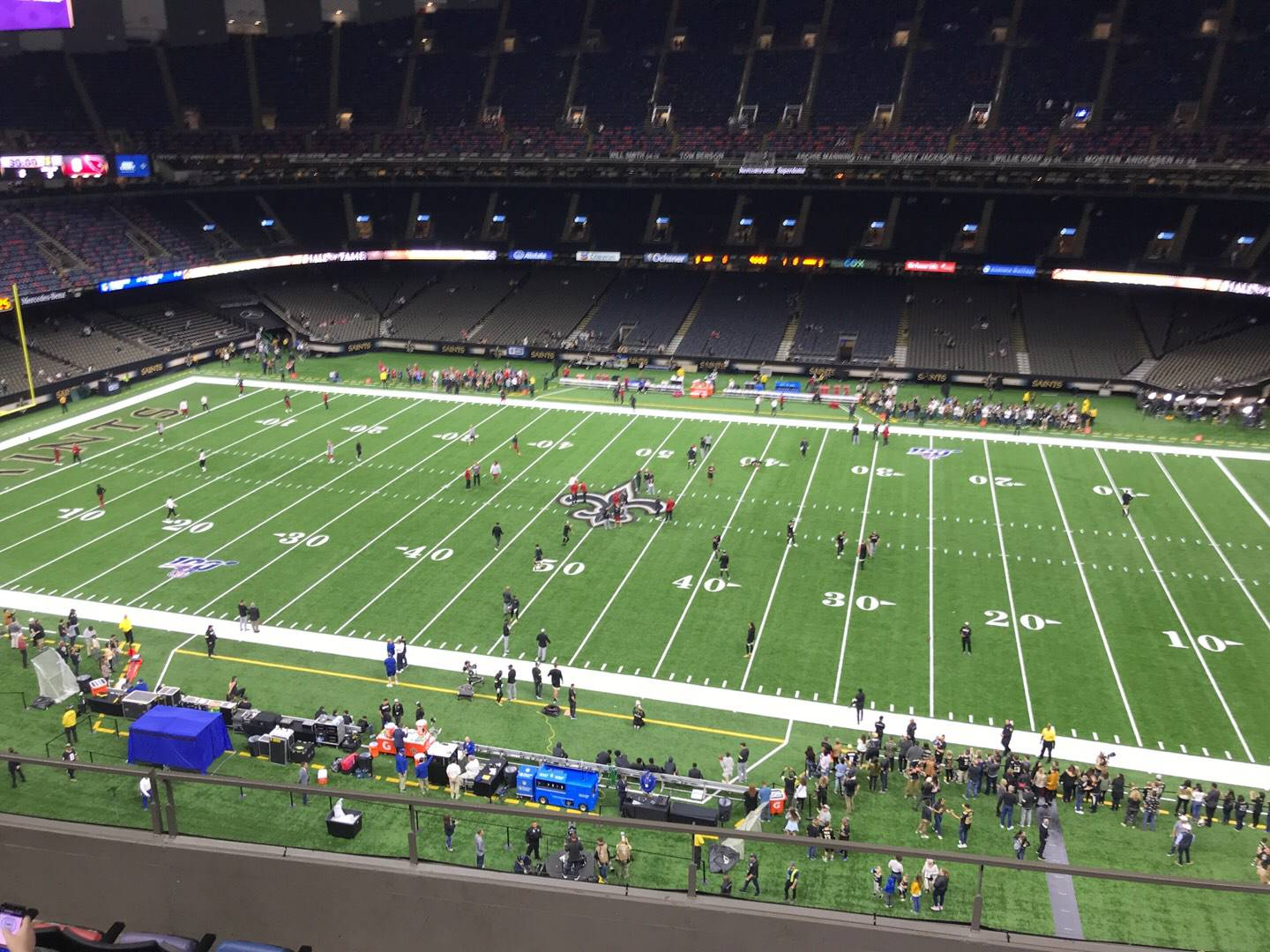 Mercedes-Benz Superdome Section 638 Row 6 Seat 5