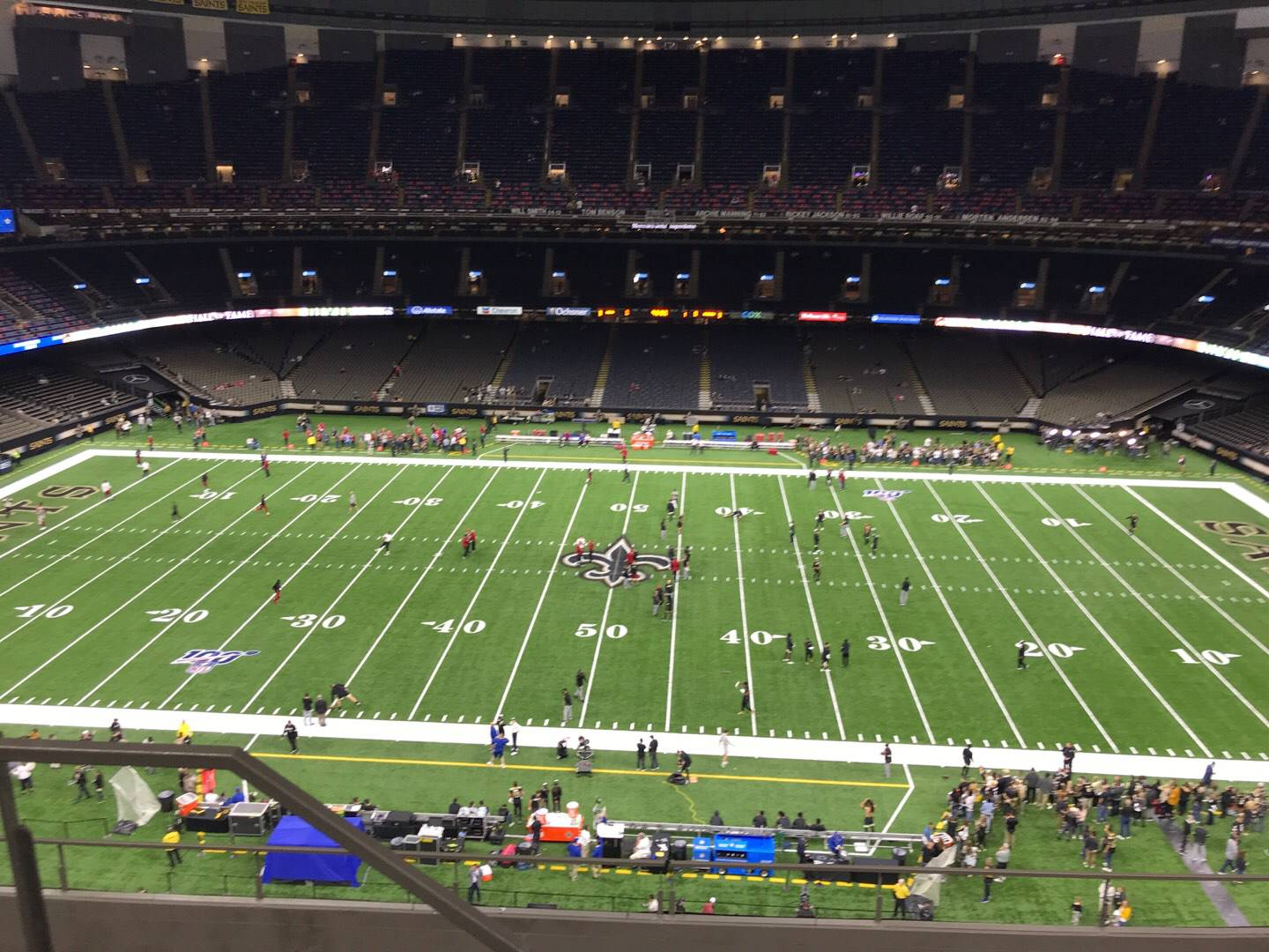 Mercedes-Benz Superdome Section 639 Row 8 Seat 21