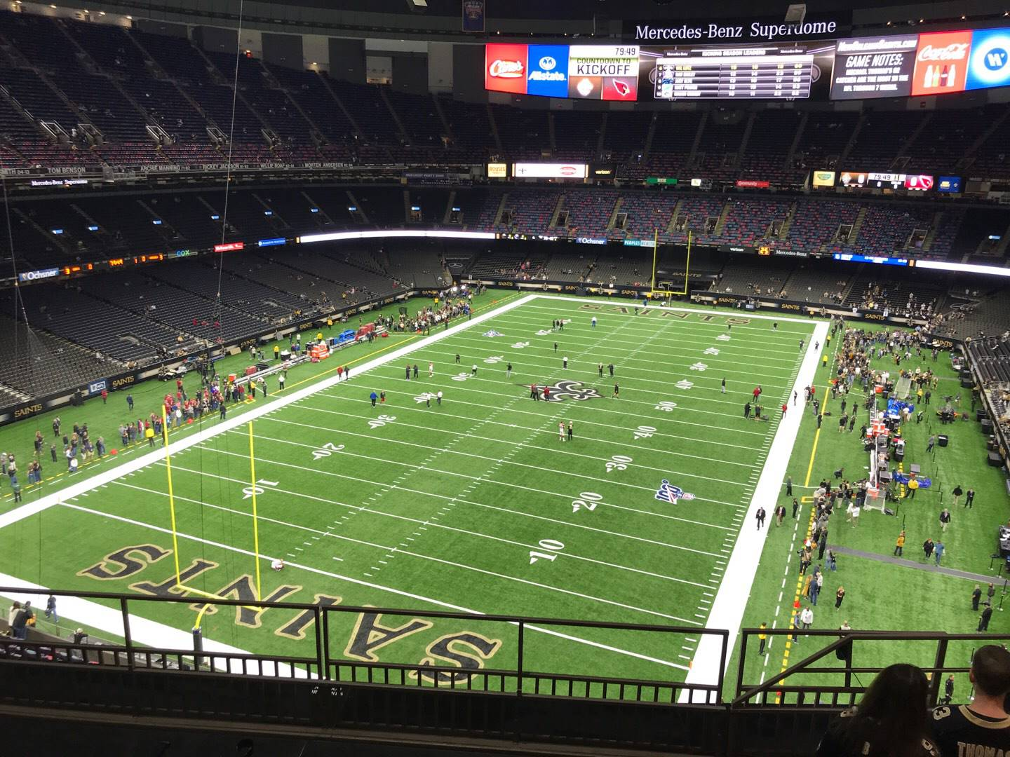 Mercedes-Benz Superdome Section 650 Row 7 Seat 6