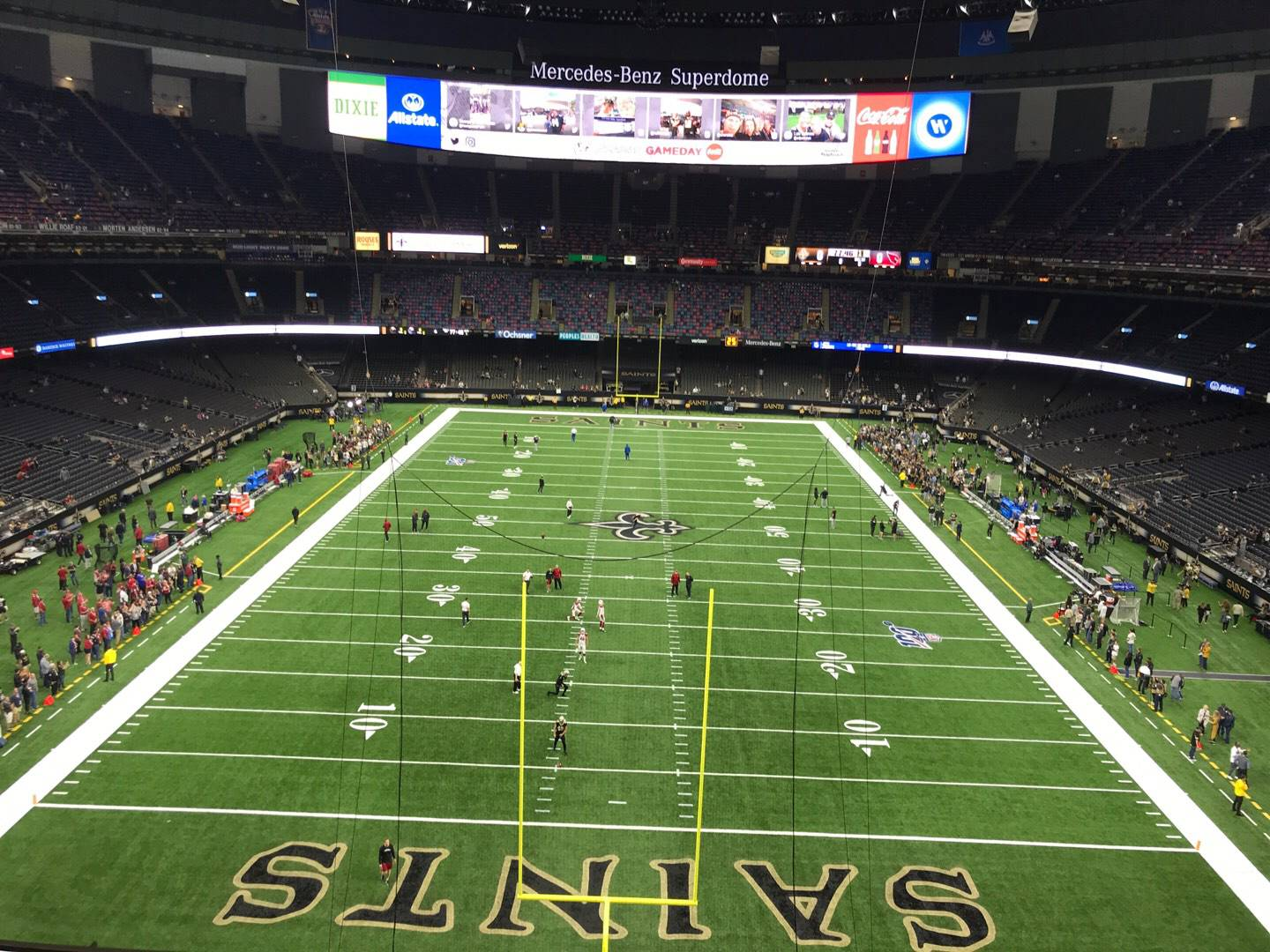 Mercedes-Benz Superdome Section 501 Row 5 Seat 10