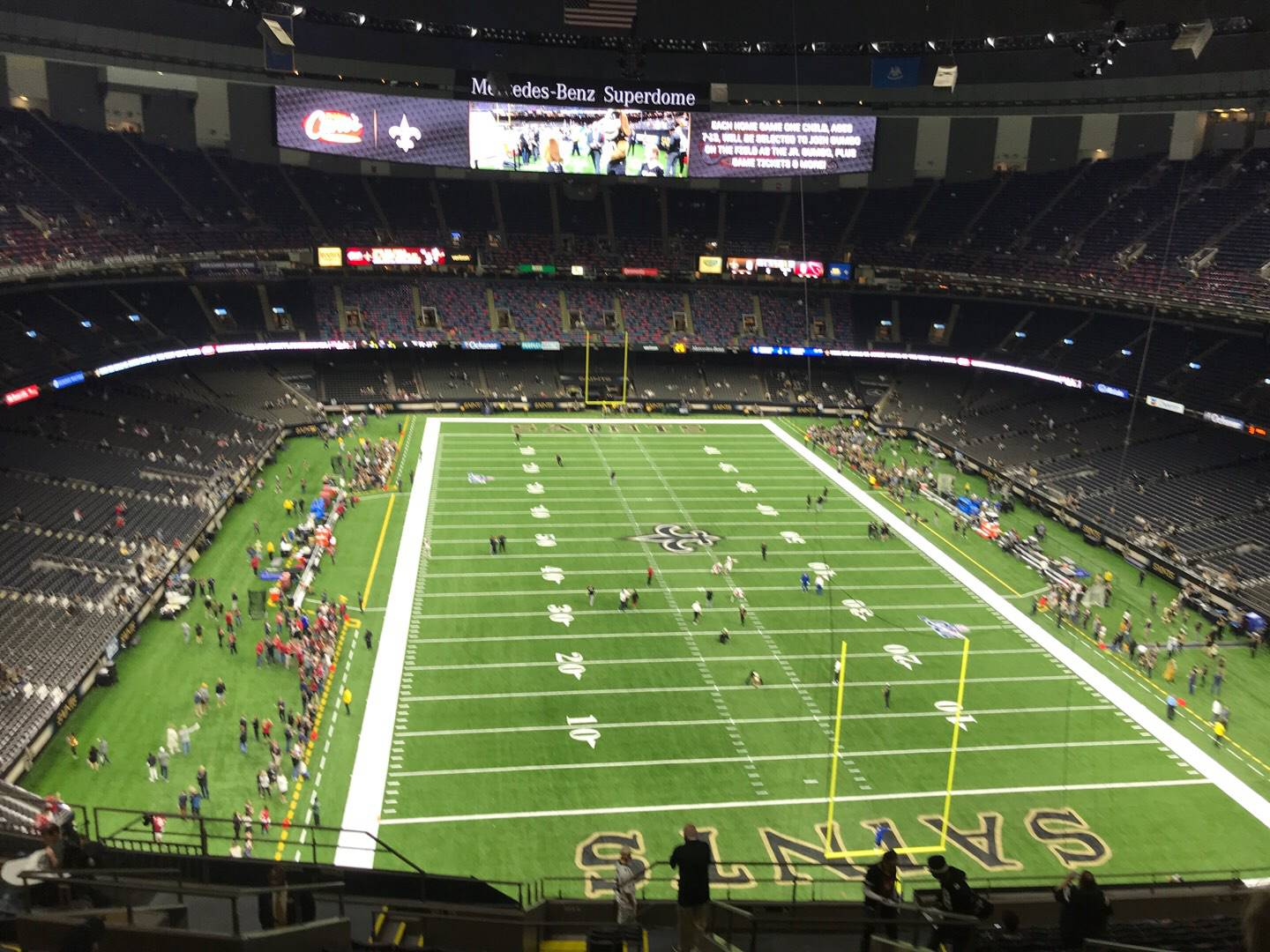 Mercedes-Benz Superdome Section 603 Row 16 Seat 8