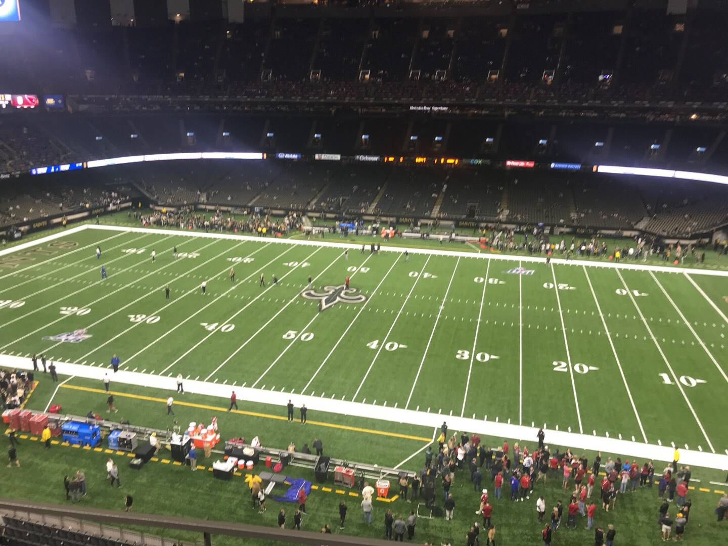 Mercedes-Benz Superdome Section 513 Row 3 Seat 4