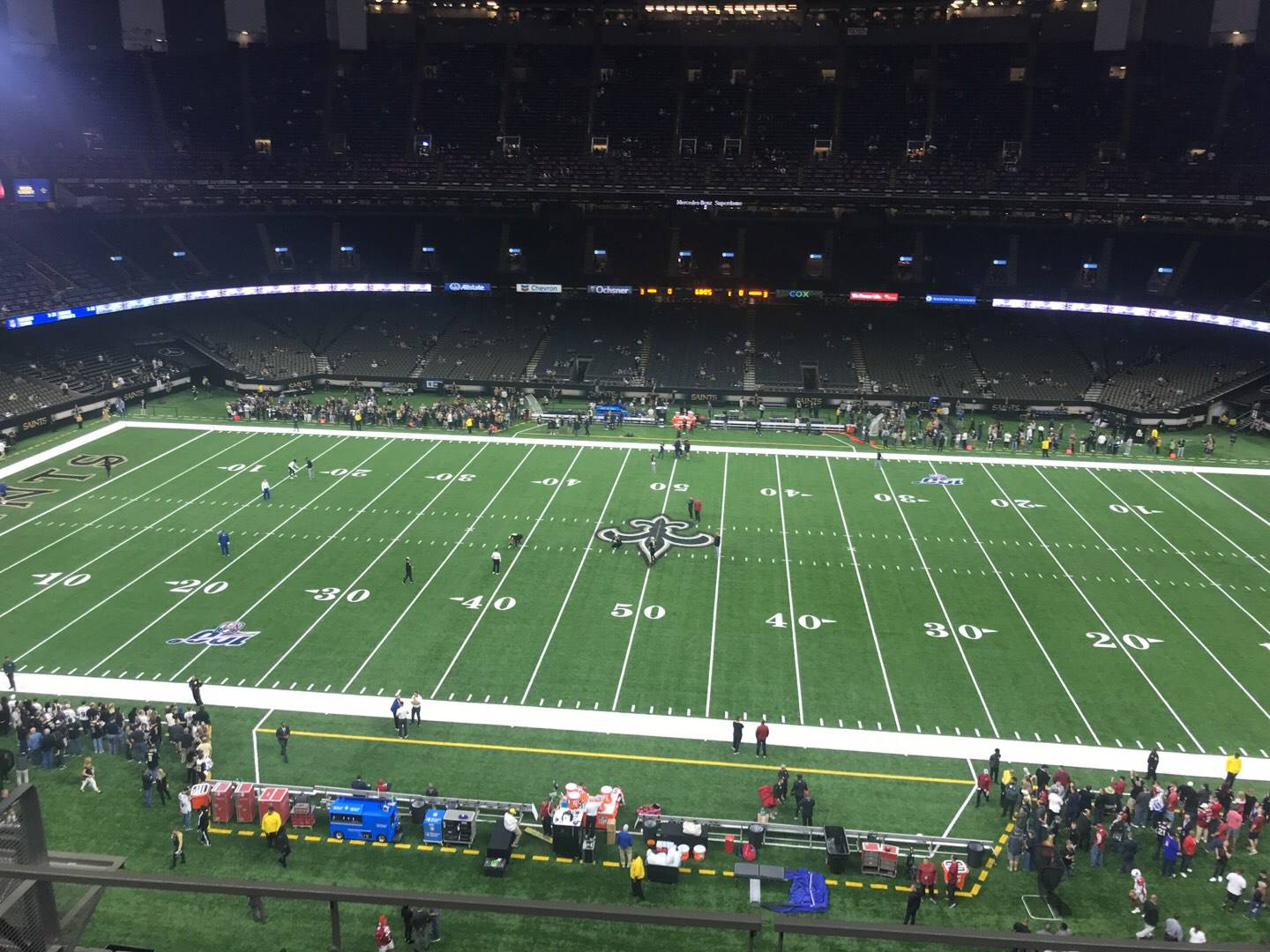 Mercedes-Benz Superdome Section 515 Row 5 Seat 12