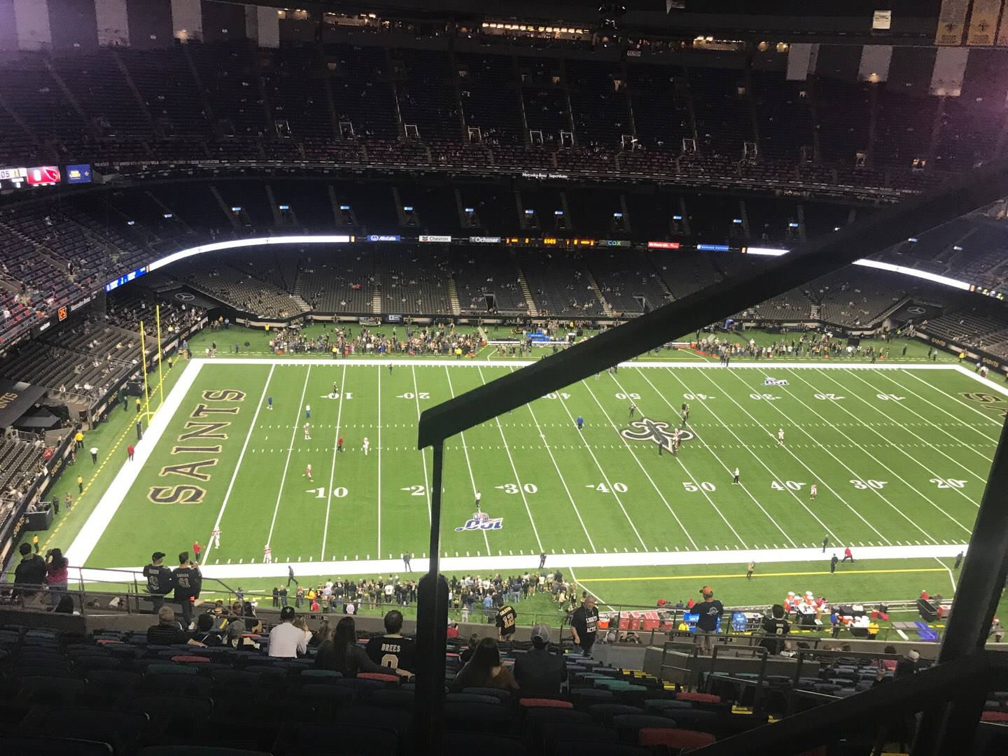 Mercedes-Benz Superdome Section 617 Row 26 Seat 5