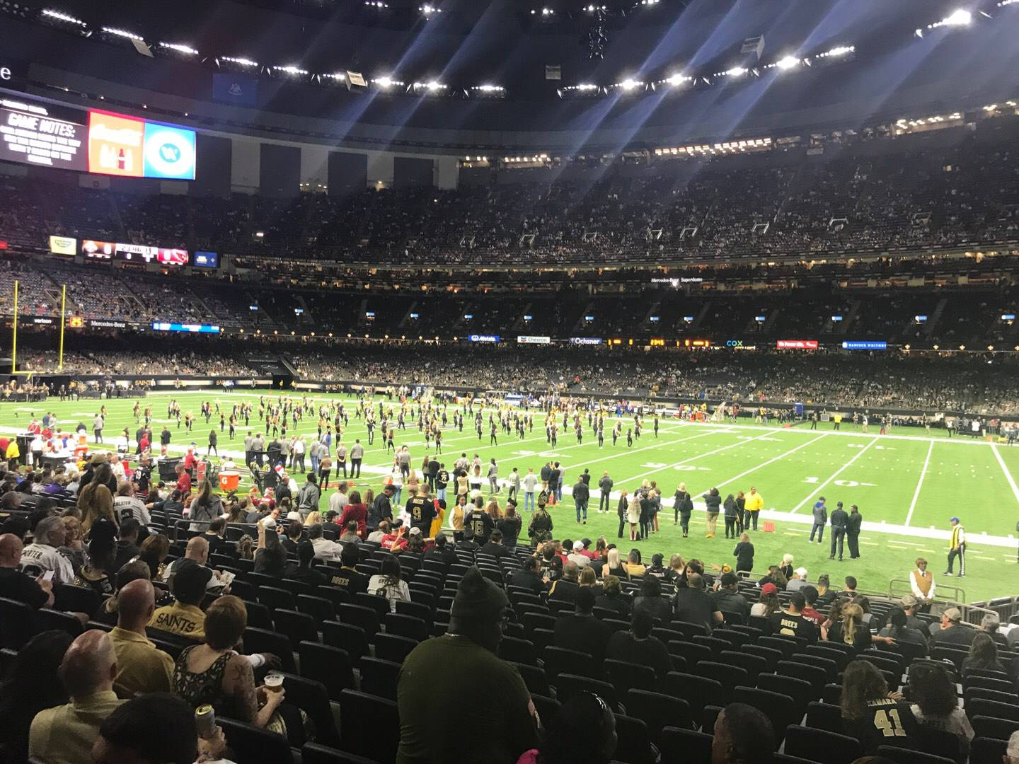 Mercedes-Benz Superdome Section 111 Row 23 Seat 4