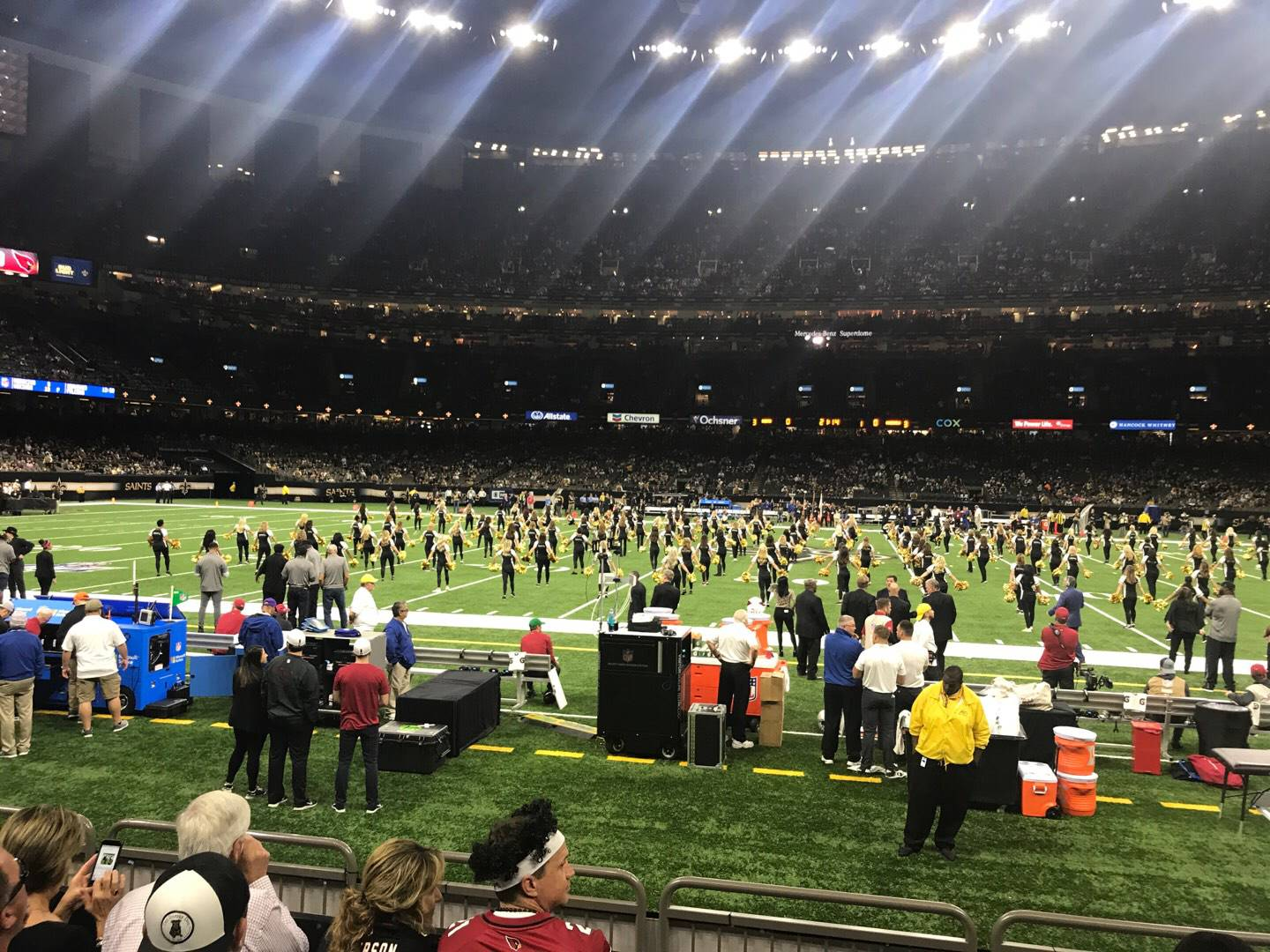 Mercedes-Benz Superdome Section 114 Row 6 Seat 7
