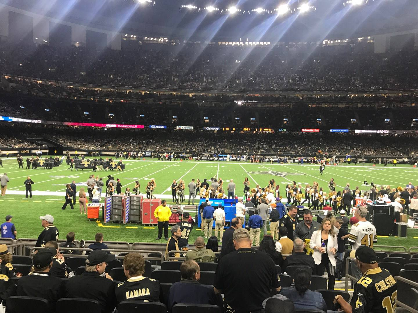 Mercedes-Benz Superdome Section 115 Row 12 Seat 3