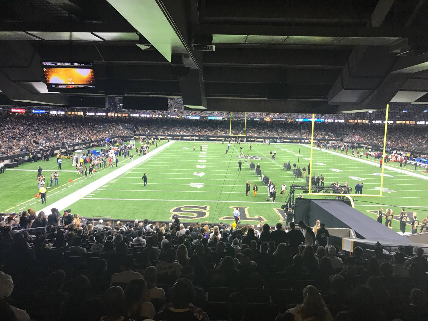 Mercedes-Benz Superdome Section 129 Row 26 Seat 9