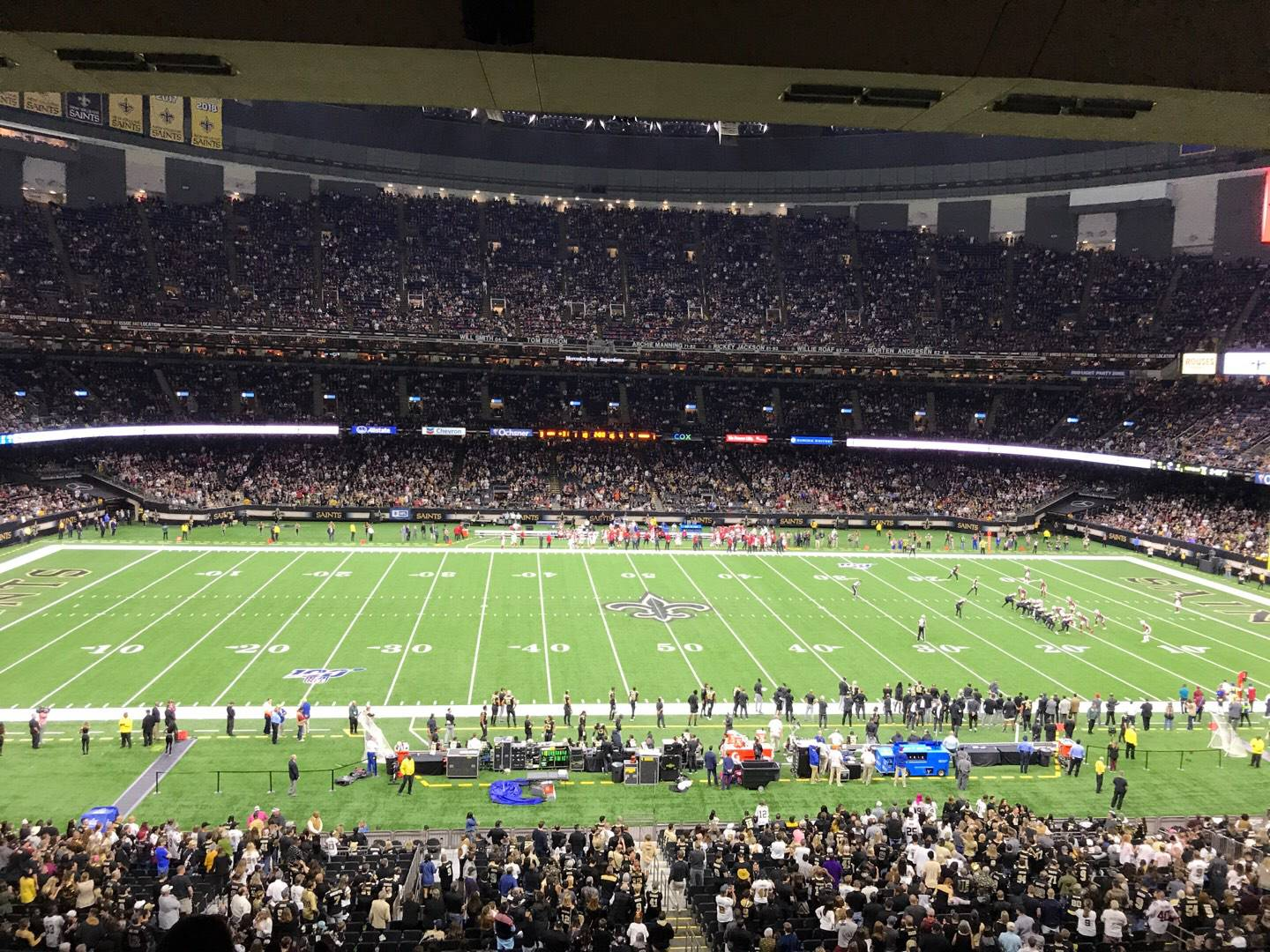 Mercedes-Benz Superdome Section 337 Row 17 Seat 12